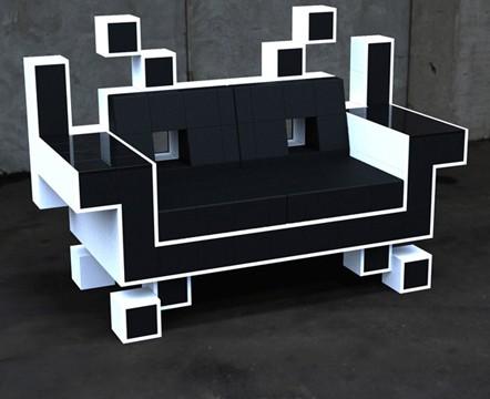 极具创意沙发空间入侵者